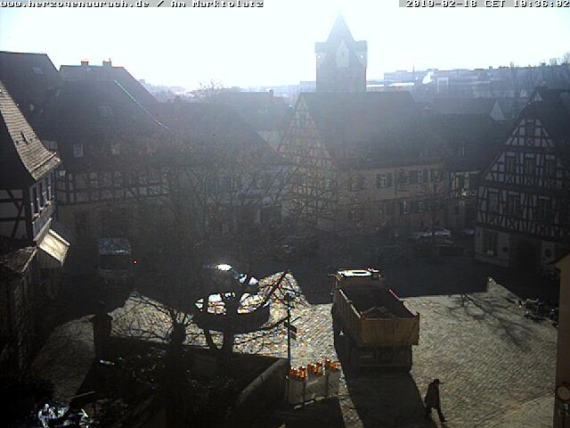 Webcam am Marktplatz Herzogenaurach